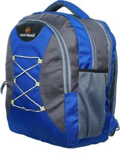Good Friends 6 To 10 Class Strong Backpack Waterproof School Bag