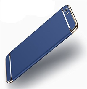 the best attitude 50278 5787f mCase Back Cover for Oppo A83Blue, Shock Proof, Plastic