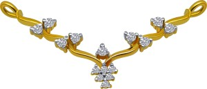PC Chandra Jewellers Tanmaniya 14kt Yellow Gold Pendant