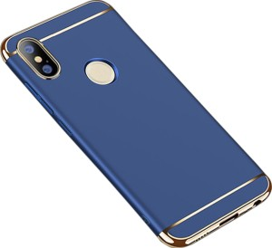 75ffce0de MECase Back Cover for Mi Redmi Note 5 Pro Blue Plastic Best Price in ...