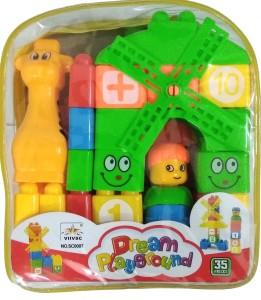 dream playground RT89 block set of 35 Pcs