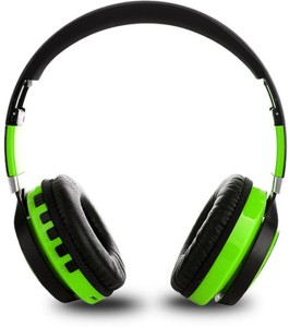 23dadda83d2 PTron Kicks Wireless Bluetooth Headset with Mic Green On the Ear Best Price  in India | PTron Kicks Wireless Bluetooth Headset with Mic Green On the Ear  ...