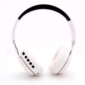 20e95440220 PTron Kicks Wireless Bluetooth Headset with Mic White On the Ear ...