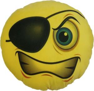 OM SMILLEY WITH BLACK EYE  - 8 cm