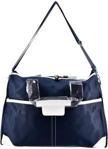 SHOPNJAZZ Barrley Prince Mother Bag with Diaper Changing Mat - Navy Blue Mother Bag