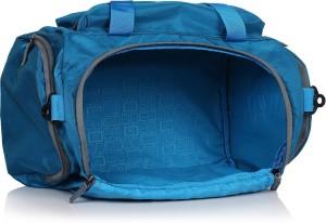 22e47bb7a9 Suntop Alive Nylon 40 Ltr Turquoise Blue Travel Duffles Travel Duffel  BagBlue