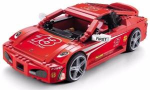 Sanyal F430 Racing Pacemaker Challenging King Size Car Construction Block Set, 512+ Pcs, Big Size