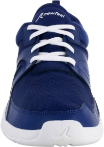 71a1756a2f3 NEWFEEL by Decathlon SOFT 100 MEN'S MESH FITNESS WALKING SHOES Walking Shoes  For MenBlue