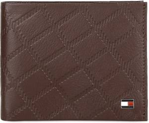 Tommy Hilfiger Men Tan Genuine Leather Wallet