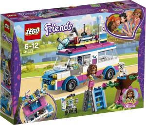 Lego Olivia's Mission Vehicle