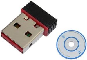 Teratech Mini Wi-Fi 500Mbps Receiver , 2.4GHz, 802.11b/g/n ,2.0 Wireless Wi-Fi Network USB Adapter