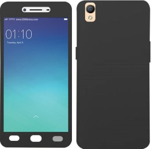 timeless design 80d5a 8c0d6 Doyen Creations Front & Back Case for Oppo A37, OPPO A37fBlack, Plastic
