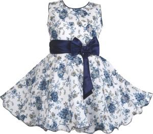 fa3f3feba061 AD AV Girls Midi Knee Length Party Dress Multicolor Sleeveless Best ...