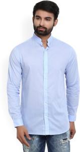Jack & Jones Men's Solid Casual Mandarin Shirt