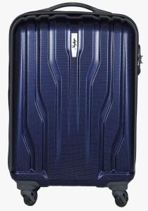 Skybags Marshal 55 cm Hard Trolley (Blue) Cabin Luggage - 22 inch