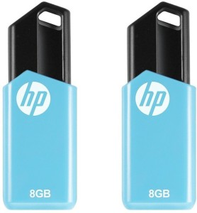 b683f4b40 HP V150W Combo of Two 16 GB Pen Drive USB 2 0 Flash Drive Blue 16 GB ...
