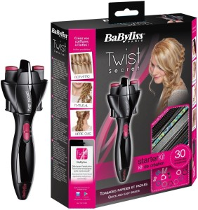 Hairinstyler Babyliss Twist Secret Electric Wireless twister Curler Styler Braid maker Hairstyling Tool Rotor Electric Hair Styler