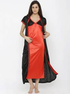 Pretty Girl Women's Nighty with Robe