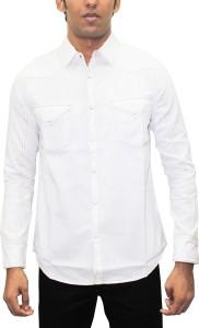 Southbay Men Solid Casual Slim Shirt