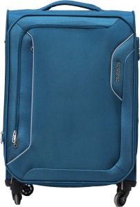 American Tourister Avalon Spinner Soft Trolley 67 cm (Teal) Expandable  Check-in Luggage - 29 inch