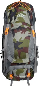 Mount Track XTrail Trekking & Hiking/ Camping Backpack 80 Ltrs with Rain Cover Rucksack  - 90