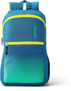 American Tourister AMT DASH SCH BAG 01 - TEAL 19.5 L Backpack