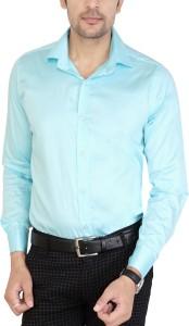Jai Textiles Men's Solid Casual Spread Shirt