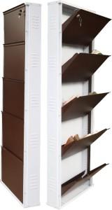 808df649b41 Peng Essentials Steel Shoe Rack Brown 5 Shelves Best Price in India ...