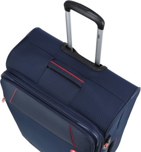 41a5261295a3 VIP CONQUER 4W EXP STROLLY 59 DEEP BLUE Expandable Check-in Luggage - 23  inchBlue
