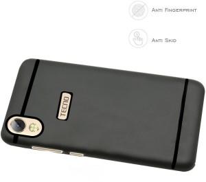 Spasht Back Cover for Tecno i3 ProBlack, Flexible Case