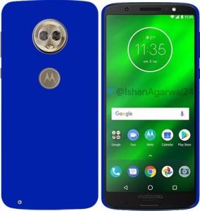MV Back Cover for Motorola Moto G6