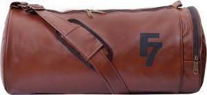 Dee Mannequin Classic Tan Leatherite Gym Bag