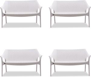 Supreme Cambridge Love 2 Seater Sofa Plastic Outdoor Chair Finish