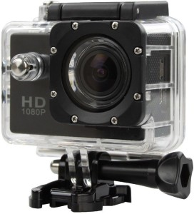 ALONZO SPORT ACTION CAMERA WIFI Sports Action Camera Ultra HD at 16 fps support 32GB SD Card, 1.5inch LCD Screen suitable with Android, IOS, Tablet, PC. Black Sports and Action Camera