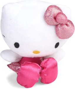 eea6a342027 My Baby Excel Plush with Shiny Pink Bow 15 cm - 15 cm ( Pink )