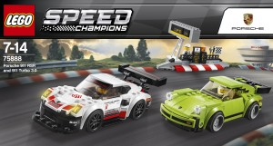 Lego Porsche 911 RSR and 911 Turbo 3.0