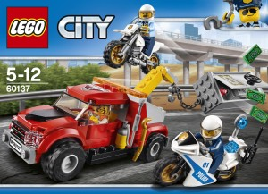 Lego Tow Truck Trouble