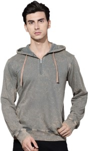 Roadster Full Sleeve Solid Men Sweatshirt