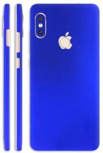 SLICKWRAPS Skin-2126 - Converter Style Blue Electroplating Skin For Back Of Mi Redmi Note 5 Pro Mobile Skin