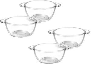 Treo Mixing Bowl with Handle 4 pcs set Glass Bowl Set