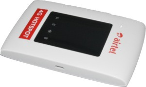 Airtel MiFi MF920V 4G LTE Unlocked Portable WiFi Hotspot RouterBlack