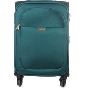 Safari Jazz SP 65 cm Soft Trolley (Teal Blue) Expandable  Check-in Luggage - 26 inch