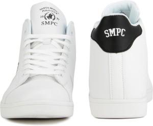 016b64043d3b Santa Monica CORBETT Sneakers For Men White Best Price in India ...