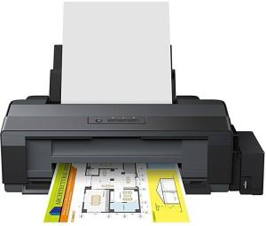 epson L1300 A3 4 Color Printer (Black) Single Function Printer