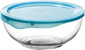 Treo Borosilicate Rim Plus Color Lid Glass Bowl