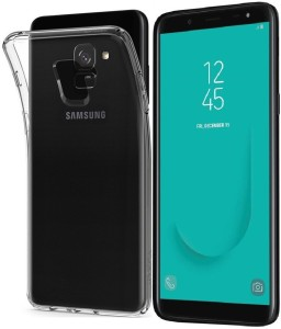 cheap for discount c0bf0 16f6b Caseking Back Cover for Samsung Galaxy J6Transparent, Flexible Case