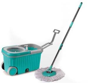 Dreamline Super Wheels Magic Mop Bucket with Extra Mop Refill Mop Set