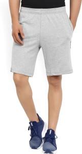 REEBOK Solid Men's Grey Sports Shorts
