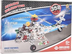 Tokenz 358 Pcs Apache Helicopter Construction Set