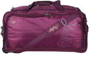 Skybags Casper Wheel Duffle 67cm (Purple) Travel Duffel Bag